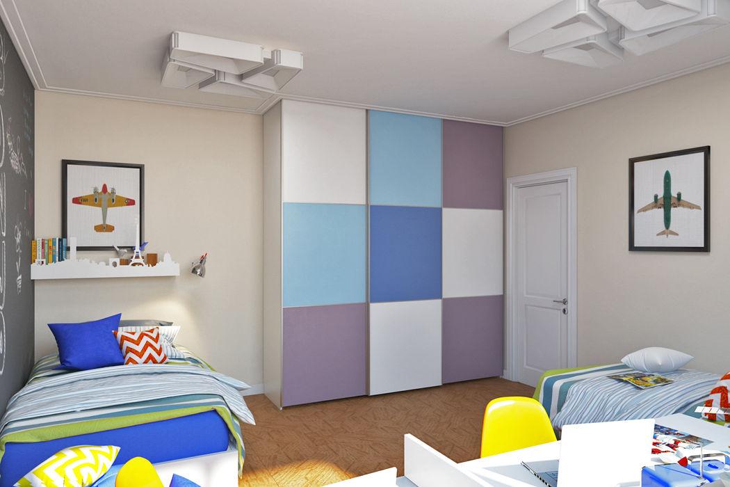 IdeasMarket Eclectic style nursery/kids room MDF Multicolored