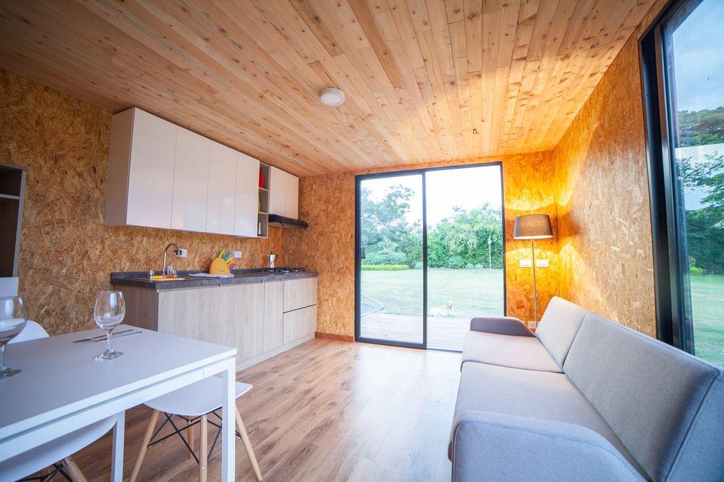 VIMOB COLECTIVO CREATIVO Salas modernas