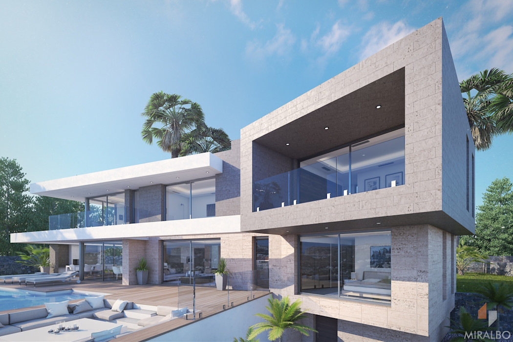 Villa Circe Miralbó Excellence Moderne Häuser
