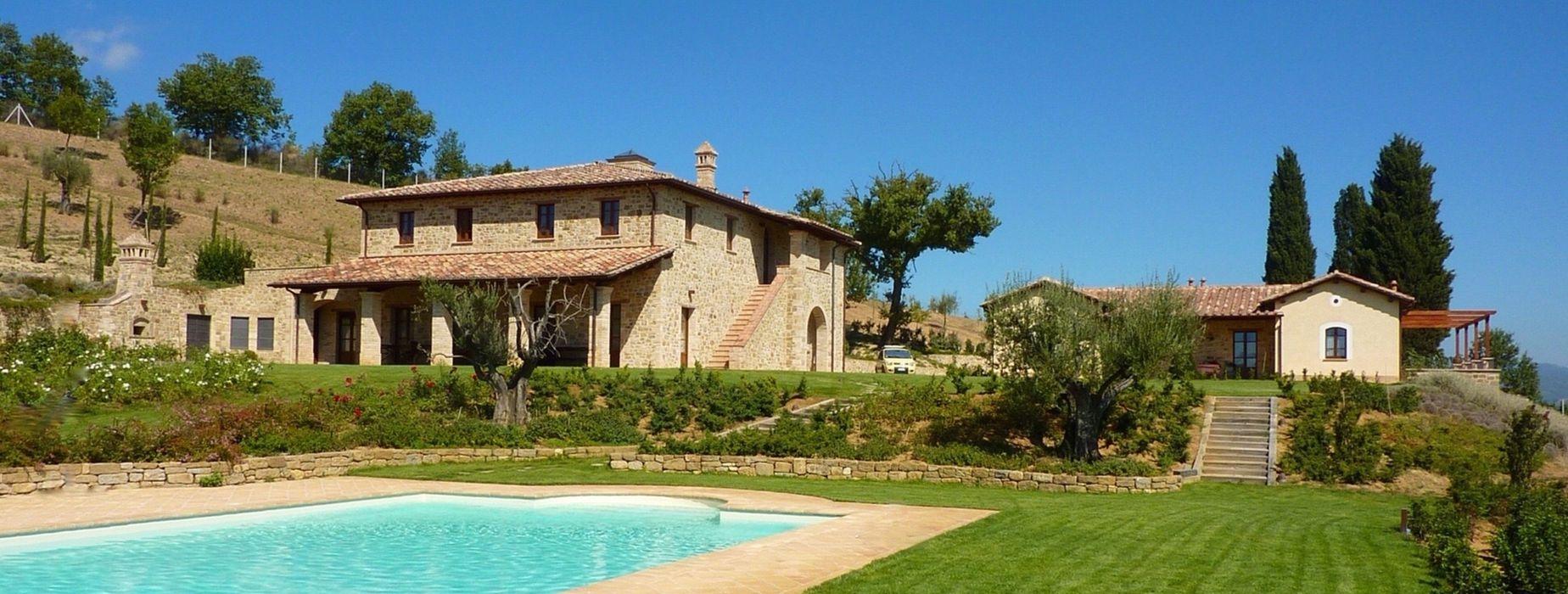 Villa a Poggio Pelliccione (PG) Studio Zaroli Casa rurale