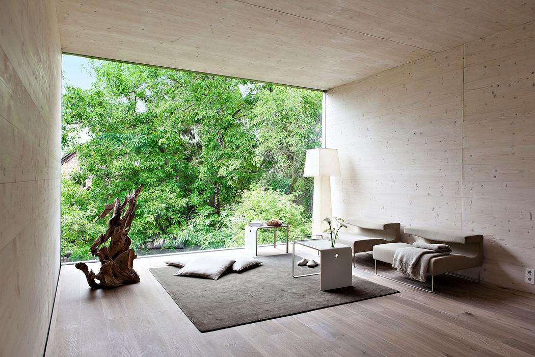 Livingtube DANKE Architekten Moderne Wohnzimmer