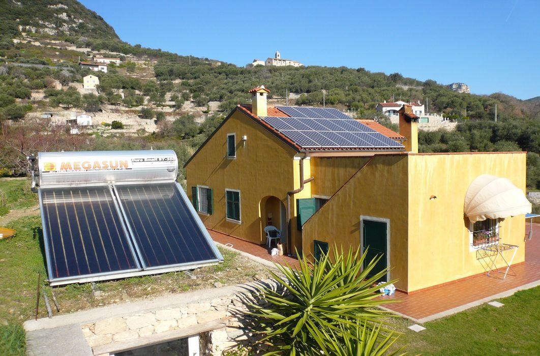 Impianto fotovoltaico e solare termico a Finale Ligure (SV) Studio rinnovabili