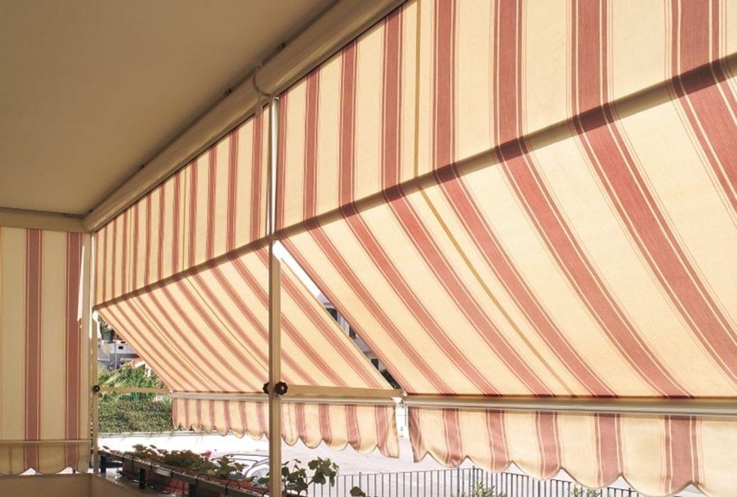 Solar awnings Emporio del Tessuto Finestre & PorteTende