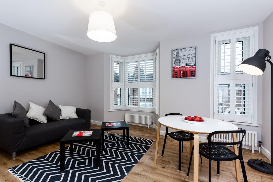 Landcroft Road - East Dulwich Oakman Classic style living room