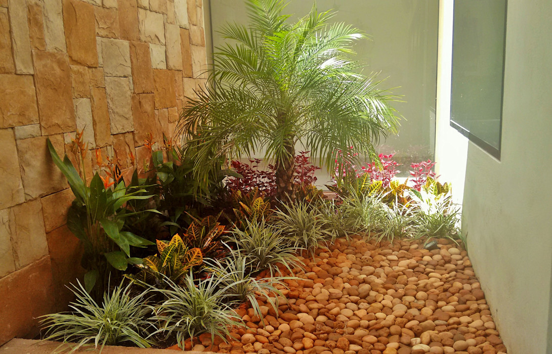 Remate Interior en acceso - final EcoEntorno Paisajismo Urbano