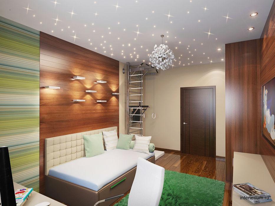 дизайн интерьера квартиры INTERIERIUM Детская комнатa в стиле минимализм