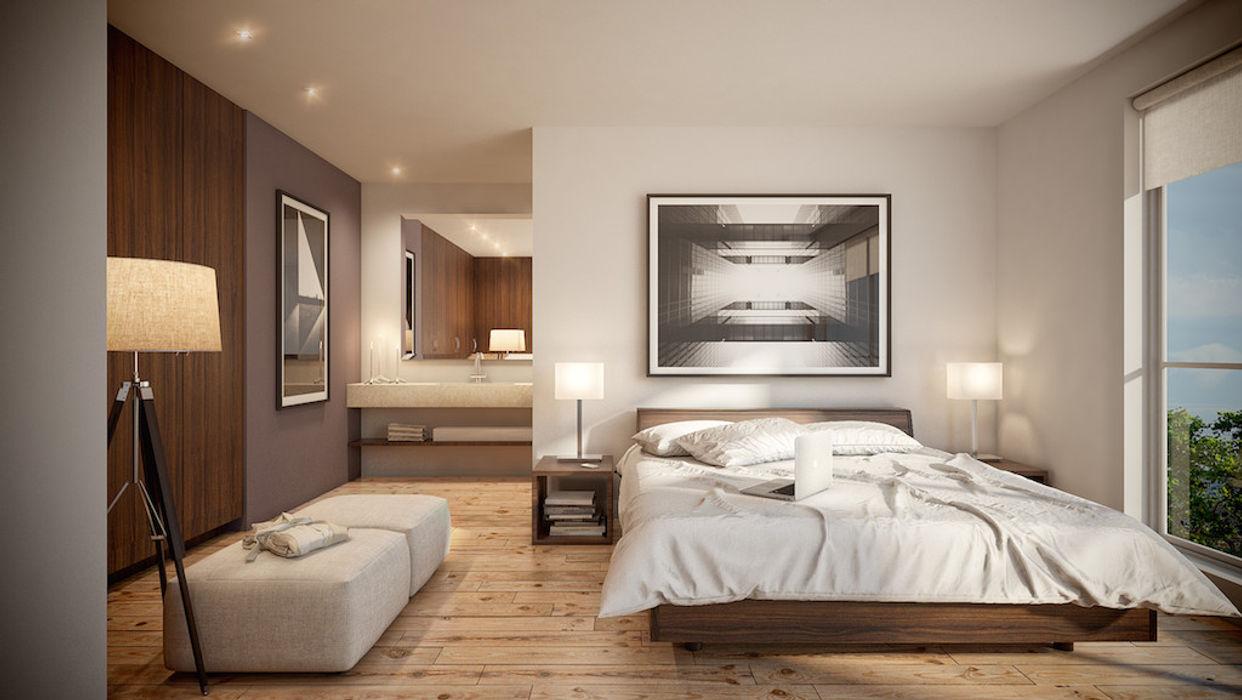 DELTA Modern style bedroom