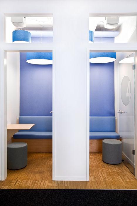 Phone Booth Sabine Oster Architektur & Innenarchitektur (Sabine Oster UG) Moderne Bürogebäude