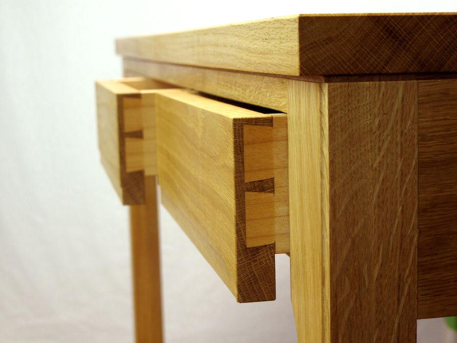 デスク 木の家具 quiet furniture of wood 勉強部屋/オフィス机 木