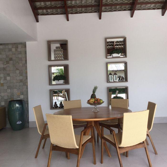 Projeto de Interiores em casa em Aruanã-GO Beatrice Oliveira - Tricelle Home, Decor e Design Varandas, alpendres e terraços modernos