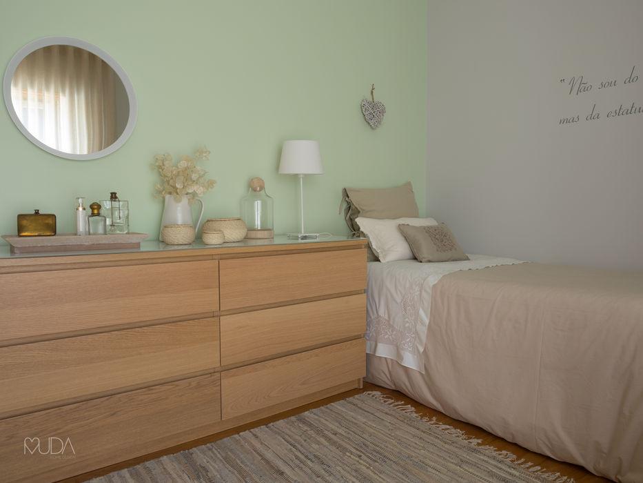 Quarto Sonho   Depois MUDA Home Design Quartos ecléticos