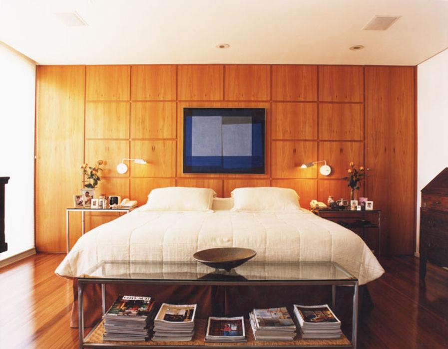 Cobertura Arpoador Ateliê de Arquitetura Dormitorios modernos