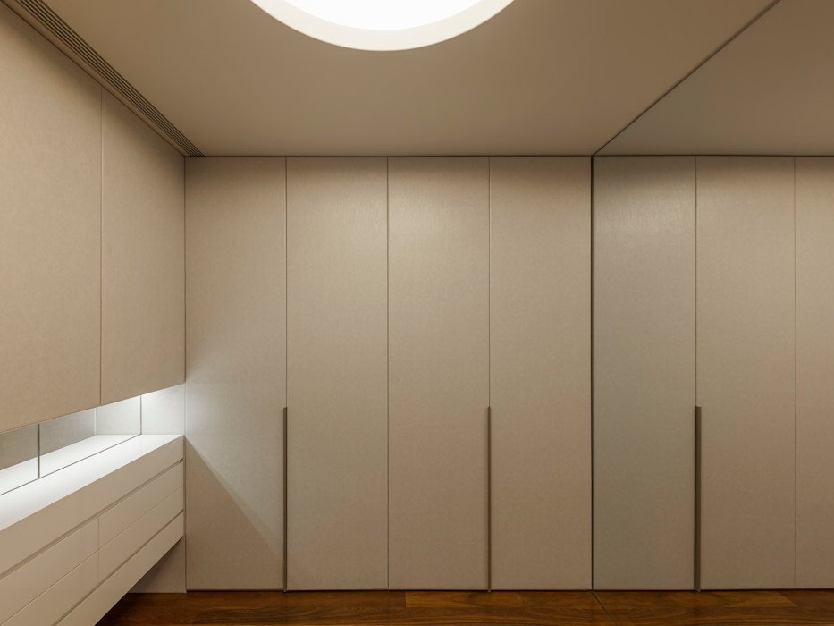 Apartamento na Foz do Douro ABPROJECTOS Closets modernos