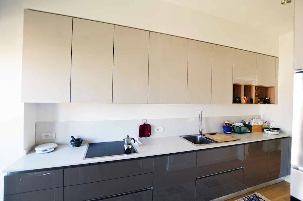 Appartamento privato SLP arch Cucina moderna