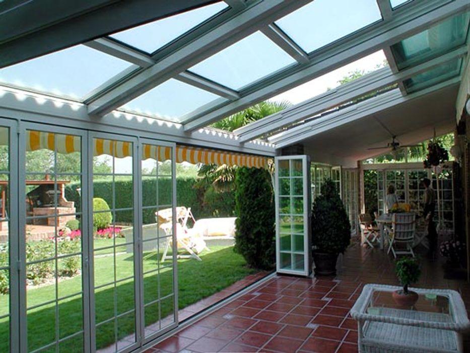 Cerramientos de Aluminio Torini Global Service Puertas y ventanas de estilo clásico Aluminio/Cinc