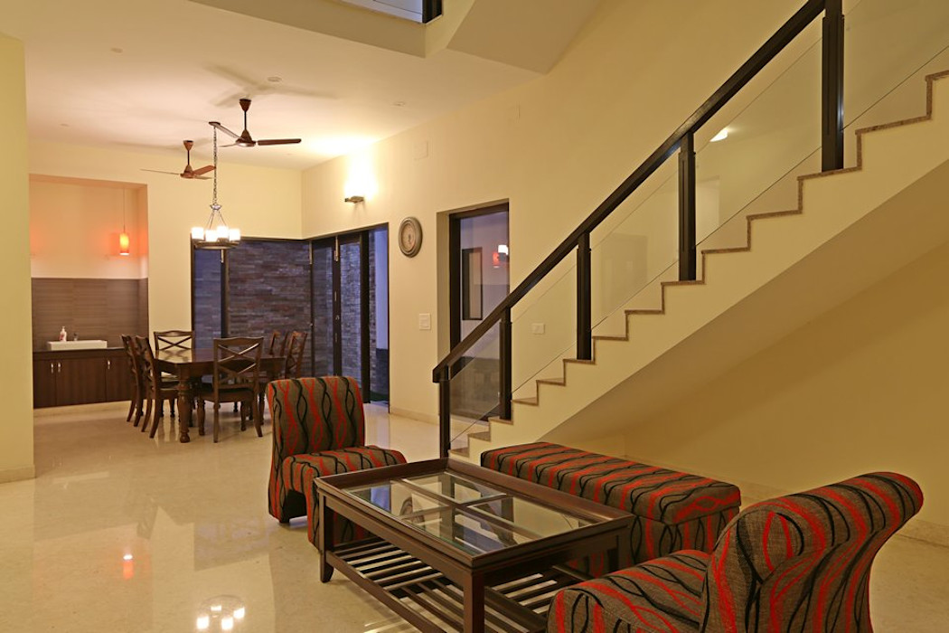 Ansari Architects Ruang Keluarga Modern