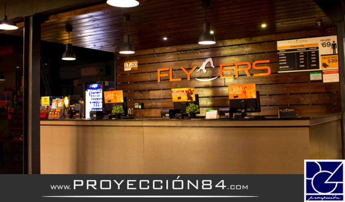 FLYERS PROYECCIÓN 84 Locaciones para eventos de estilo moderno