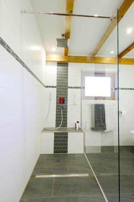 Dusche Immobilienphoto.com Moderne Badezimmer