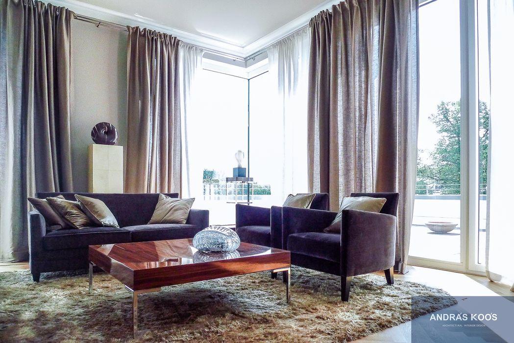 Harvestehuder Weg - Penthouse Andras Koos Architectural Interior Design Moderne Esszimmer