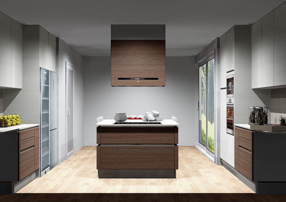 Amplitude - Mobiliário lda Cocinas modernas Madera Acabado en madera