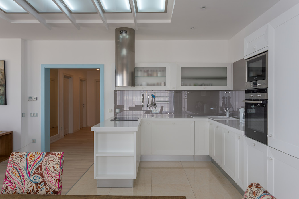 Проект Морской бриз Bellarte interior studio Кухня в скандинавском стиле