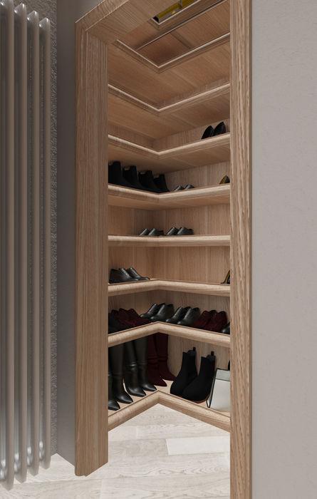 cabina scarpe design WOOD Camera da lettoArmadi & Cassettiere