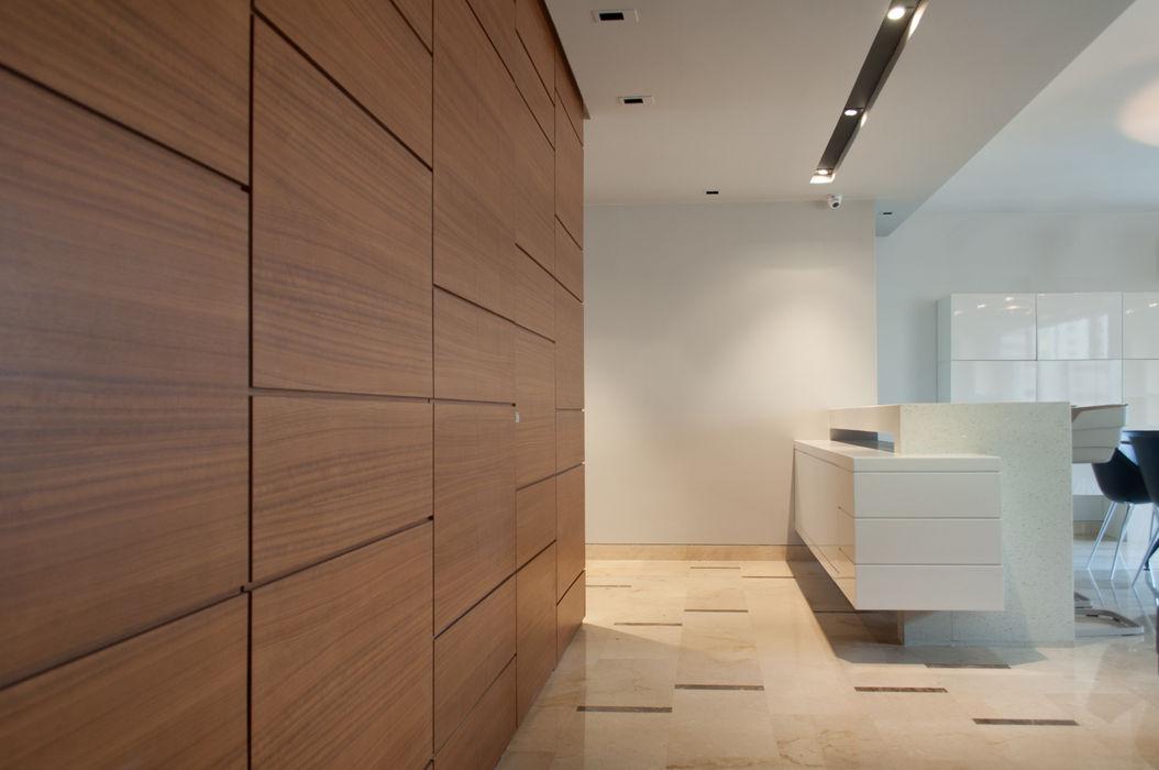 Apartamento Qvadra Sebucán VODO Arquitectos Salas de estilo moderno
