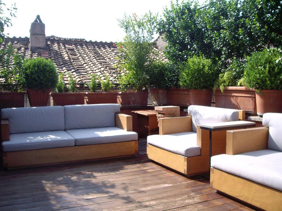 Studio Fori Balconies, verandas & terraces Furniture