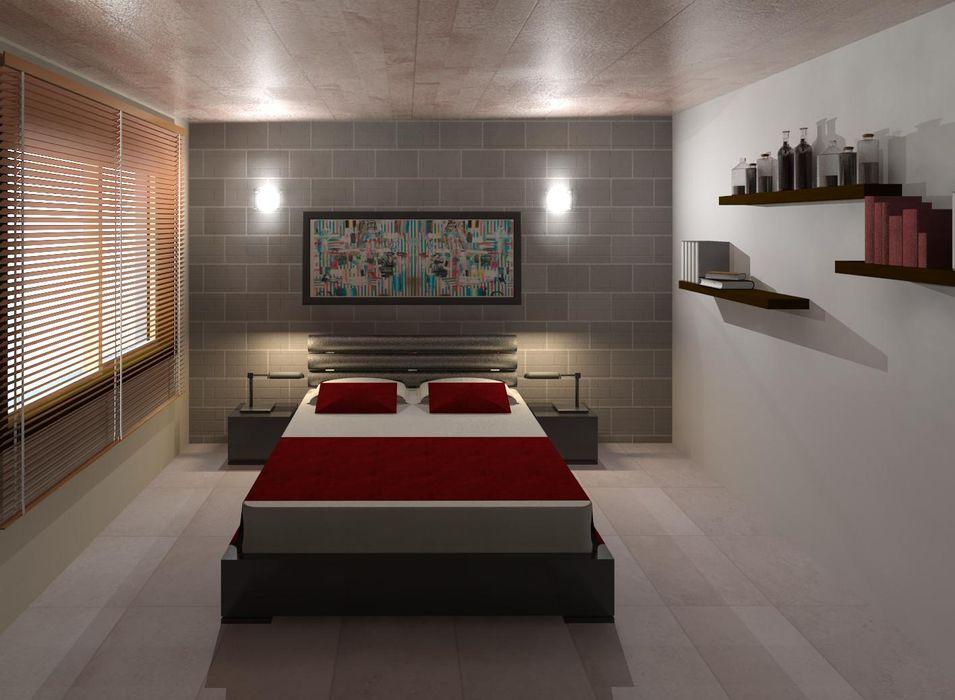 Dormitorio 01 Diseño Store Cuartos de estilo moderno