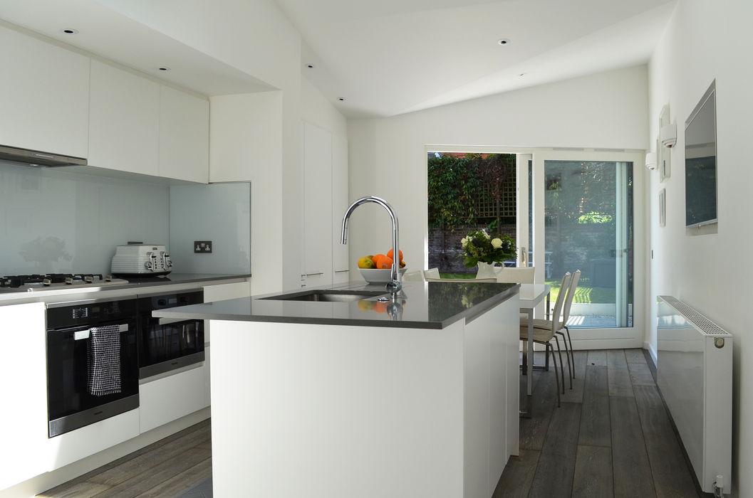 South Hill Park Belsize Architects Кухня