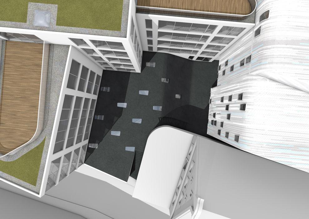 donaukurier brandt+simon architekten Modern Houses