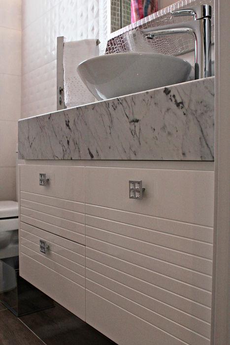 Daiana Oliboni Design de Interiores Modern Banyo Beyaz