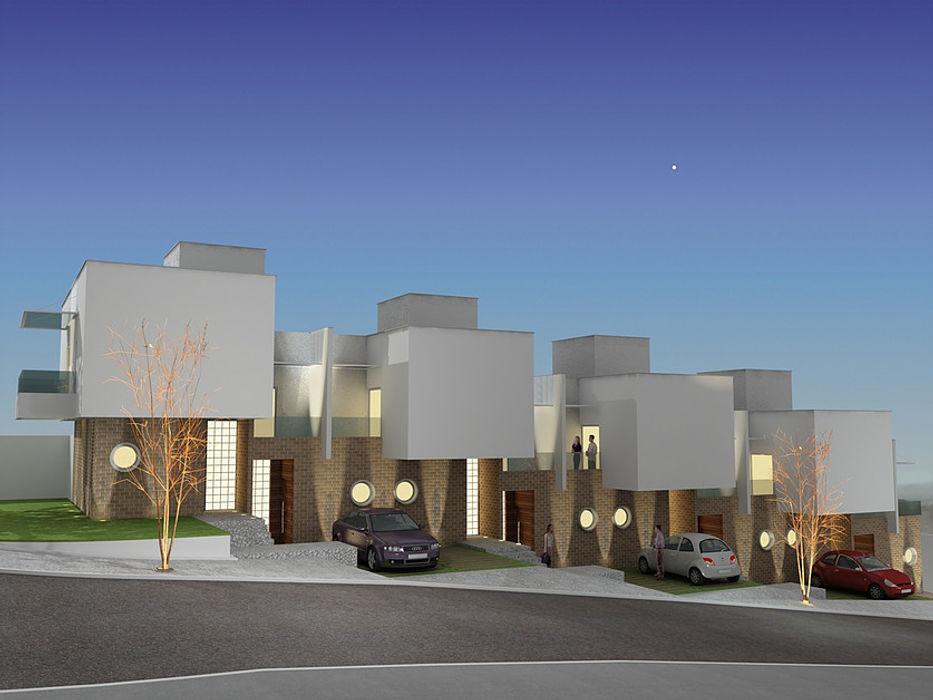 Lofts Morada da Colina, Uberlândia - Projeto THEROOM ARQUITETURA THEROOM ARQUITETURA E DESIGN Casas modernas
