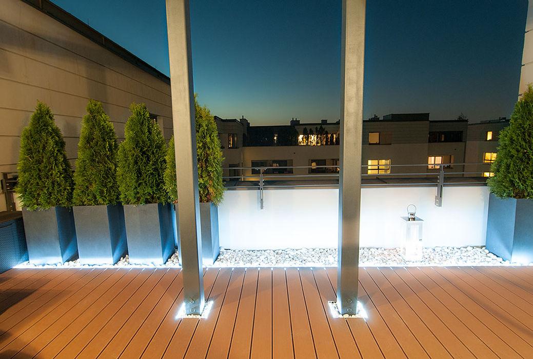 Aranżacja tarasu Perfect Space Klasyczny balkon, taras i weranda