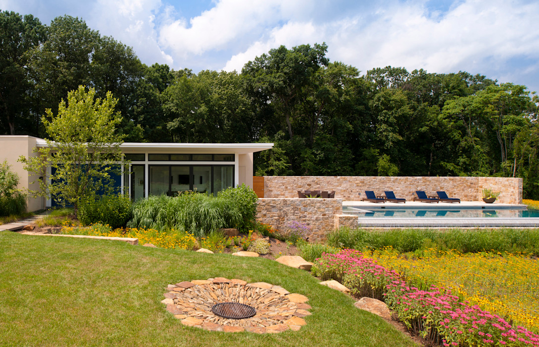 Cunningham | Quill Architects Modern pool
