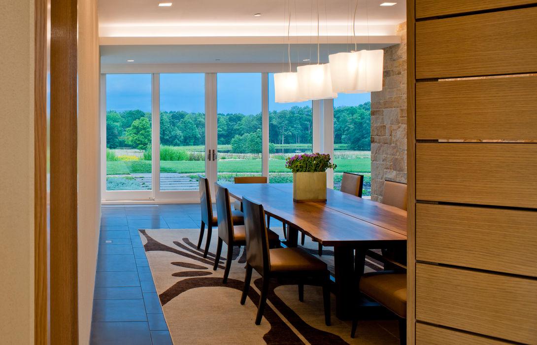 Cunningham | Quill Architects Comedores de estilo moderno