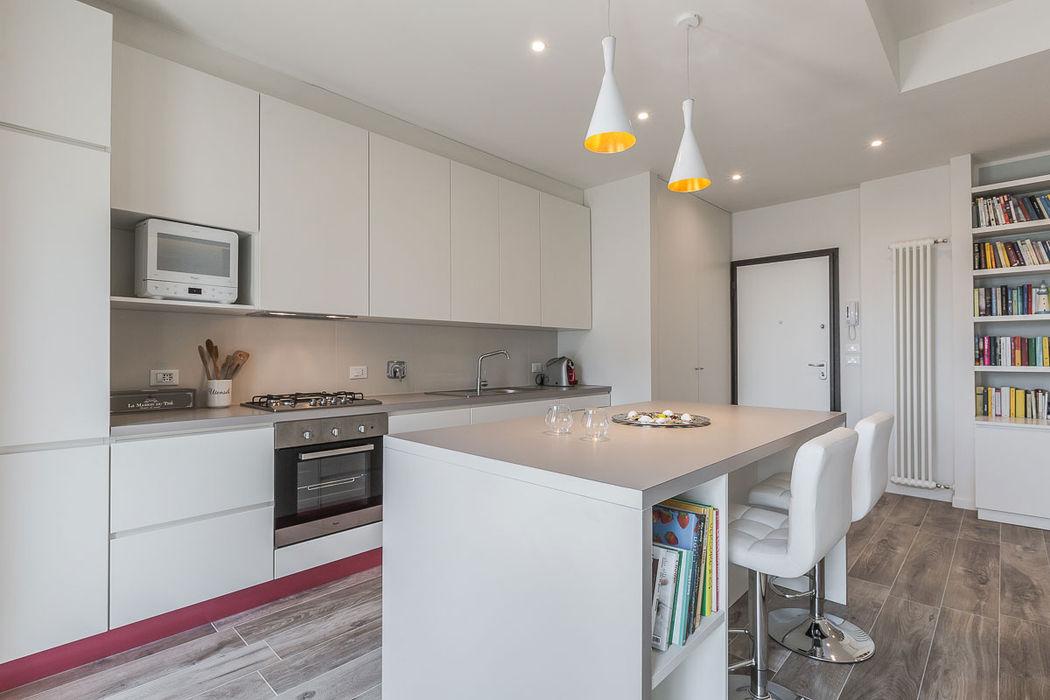 Cucina open space con isola Facile Ristrutturare Cucina minimalista