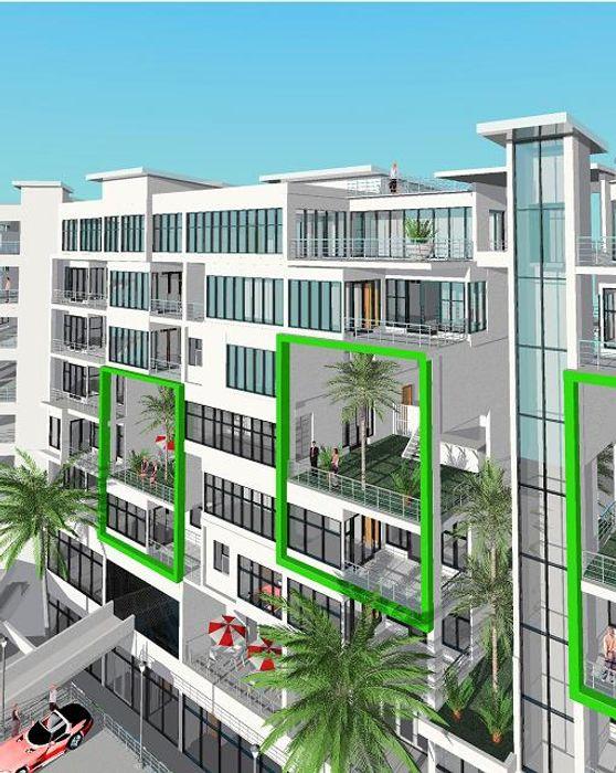 Maputo Hyperrealistic Architectural Studio Modern houses Bricks White