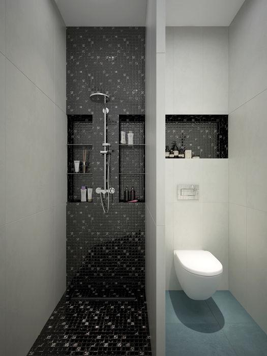 Rubleva Design Baños de estilo moderno