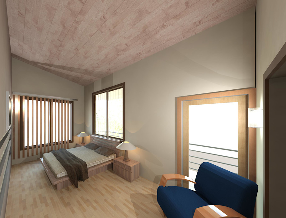 Dormitorio principal Diseño Store Cuartos de estilo moderno