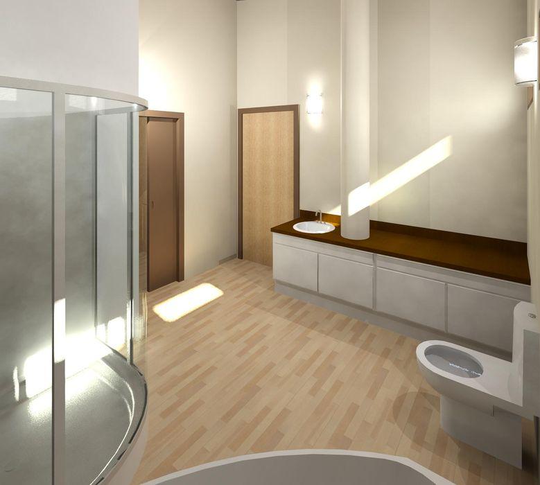 Baño principal Diseño Store Baños de estilo moderno