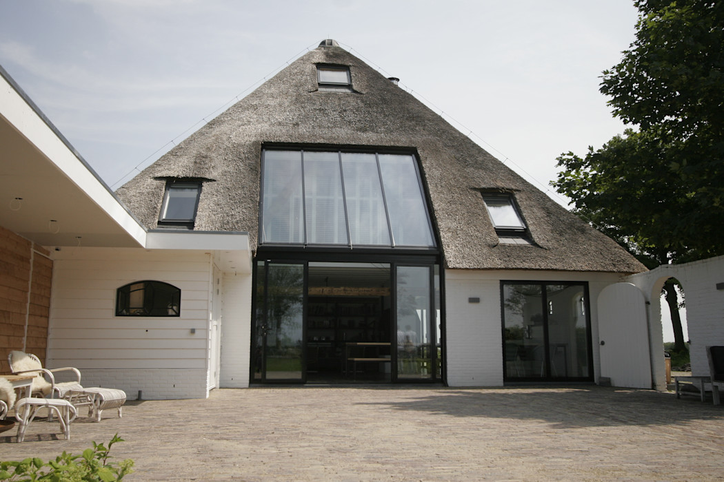 Woonboerderij / Stolpenboerderij Van der Schoot Architecten bv BNA Landelijke huizen Hout Hout