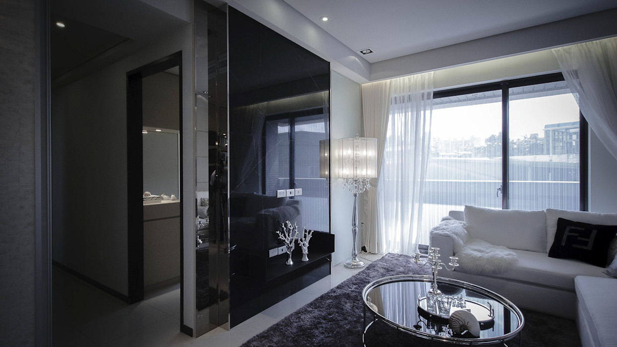 BRAVO INTERIOR DESIGN & DECO LUX STYLE 璞碩室內裝修設計工程有限公司 现代客厅設計點子、靈感 & 圖片
