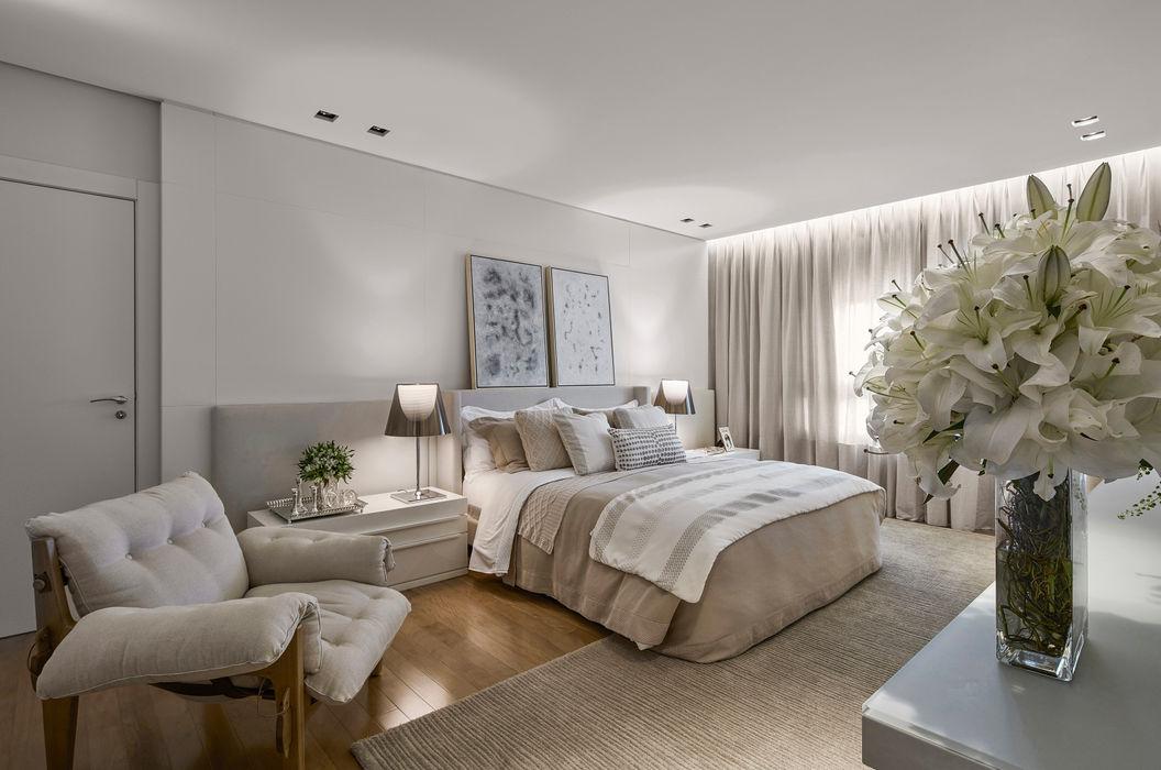 Alessandra Contigli Arquitetura e Interiores Dormitorios modernos