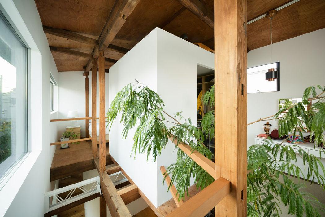 武蔵境の家 ディンプル建築設計事務所 モダンデザインの 多目的室