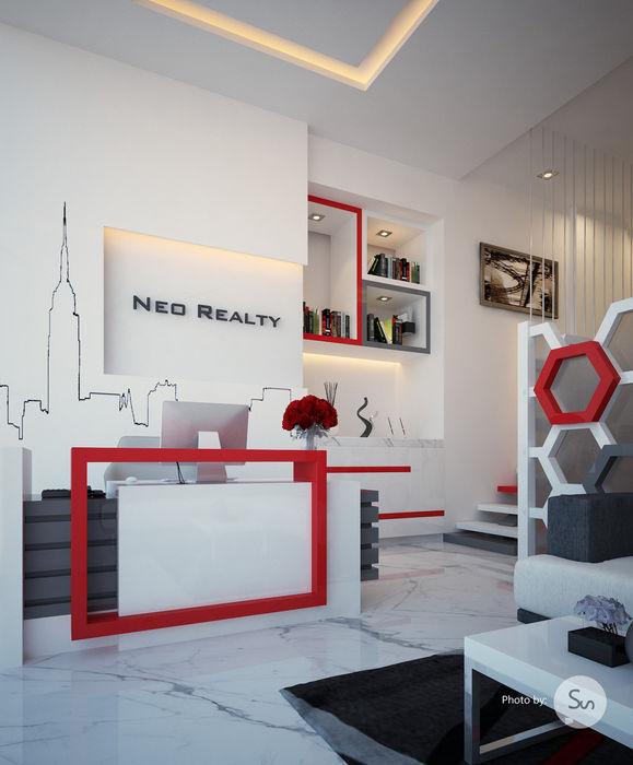 spacefusion Estudios y despachos de estilo moderno