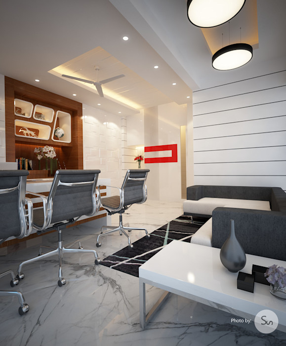 Office Interior spacefusion Study/officeCupboards & shelving