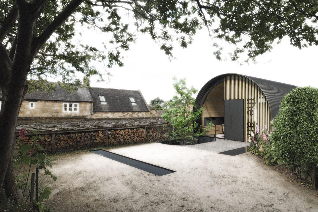 The Ark, Studio: Exterior design storey Modern Houses