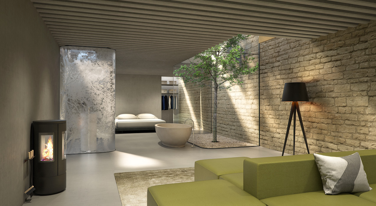 The Ark, Studio: Interior design storey Modern Living Room