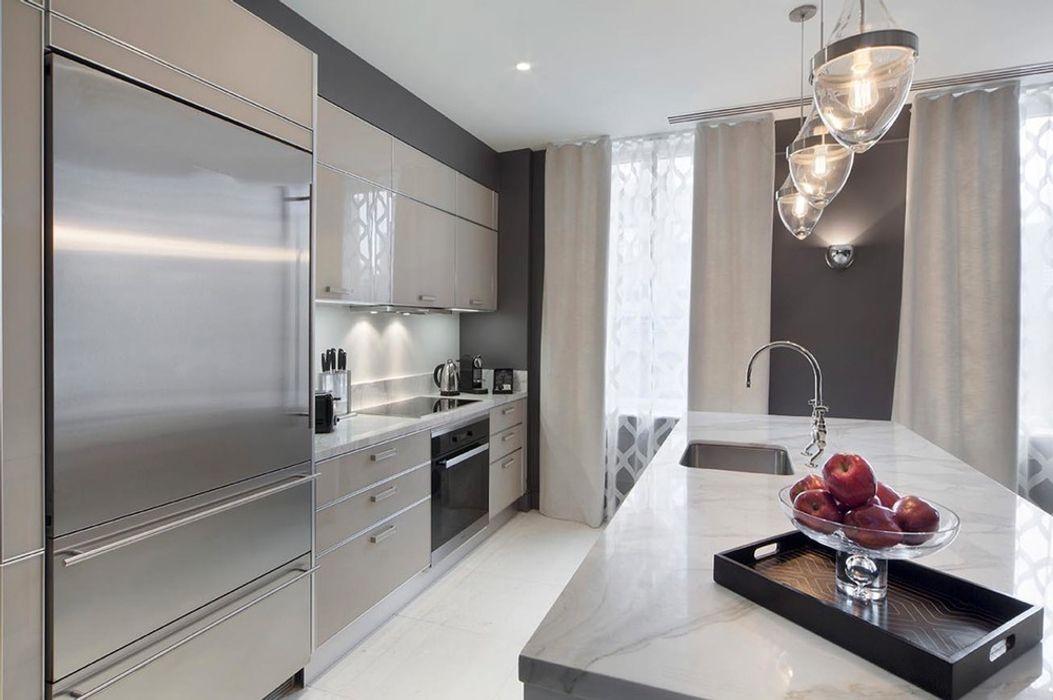 Kitchen Joe Ginsberg Design Modern Kitchen White